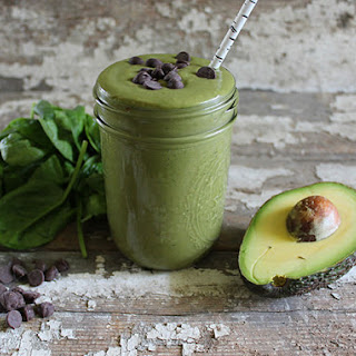 A Stripped Smoothie | Mint Chocolate Chip