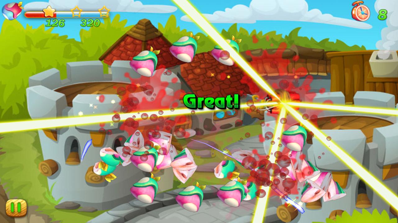 Cut fruits game - Fruit Cut Screenshot