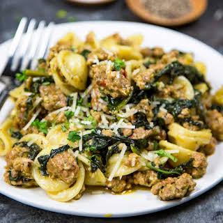 Orecchiette Pasta With Spinach Recipes.