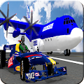 Police Kart Transport Airplane