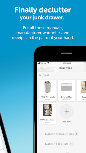 The HomeServe App screenshot 2