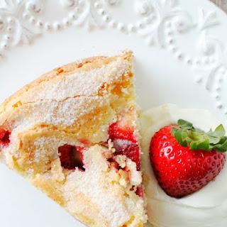 French Strawberry Cake Recipe