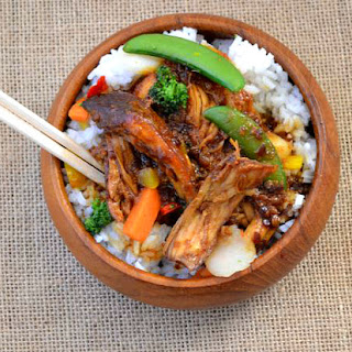 Crock Pot Chicken Teriyaki.