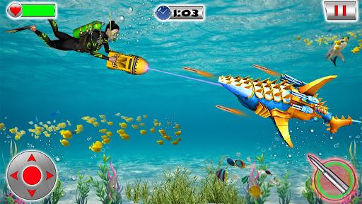 Shark Robot Transformation - Robot Shark Games 1.1 screenshots 1