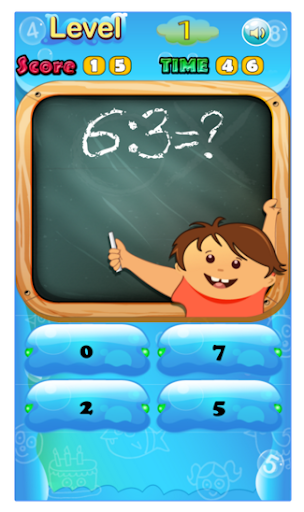 Math game education fun kids