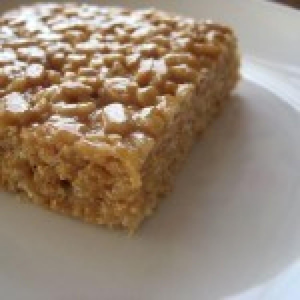 Mum's Peanut Butter Rice Krispie Chews Recipe