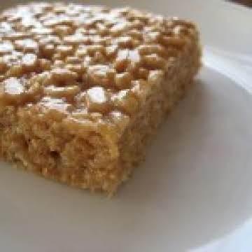 Mum's Peanut Butter Rice Krispie Chews