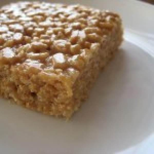 Mum's Peanut Butter Rice Krispie Chews Recipe