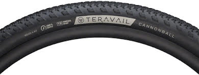 Teravail Cannonball Tire, 650b x 47, Light and Supple, Tubeless Ready, Black alternate image 1