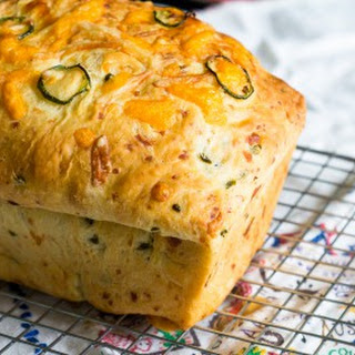Jalapeno 3-Cheese Bread