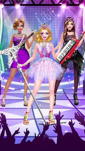 ud83cudf99ufe0fud83dudc67Music Girl Makeup Salon - Rock Star Dress Up screenshots 12