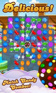 Candy Crush Saga 1.110.1.1 (Unlimited Lives/Moves) Mod Apk 1