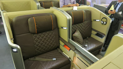 Photo: First class on Singapore Air's new Boeing 777-300ER