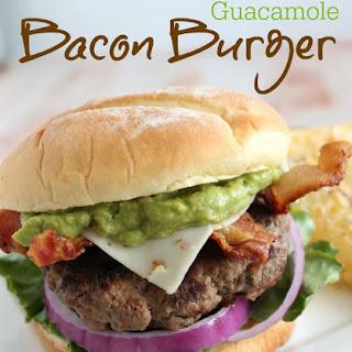 Guacamole Bacon Burger.