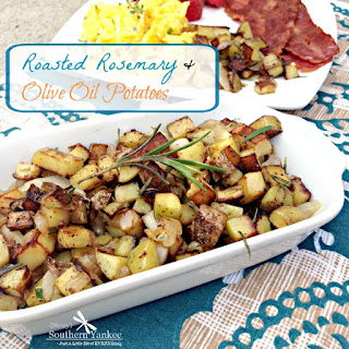Roasted Rosemary & Olive Oil Potatoes