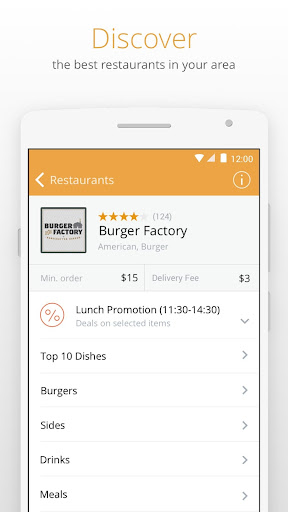 Otlob - Food Delivery 3.6.1 screenshots 2