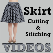 Skirt Cutting Stitching VIDEOs