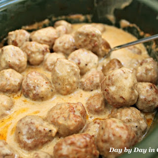 Meatballs With Cream Of Mushroom Soup Crockpot Recipes.