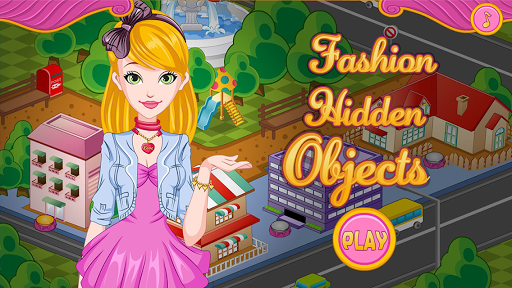 Fashion Salons Hidden Objects