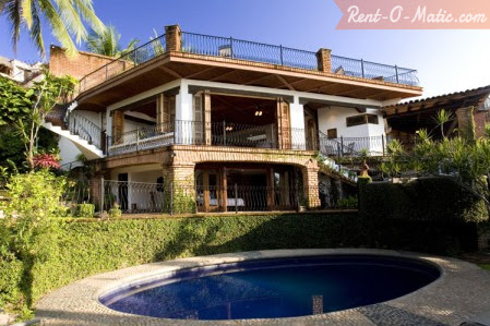Photo: puerto vallarta, mexico luxury vacation rental villa. list your vacation rental properties with us for FREE! book vacation rentals worldwide through our site and avoid paying any of those annoying booking fees ♥ http://www.rent-o-matic.com/private-paradise-in-the-heart-of-the-city-just-a-few-short-blocks-until-youre-relaxing-on-the-beac/l22