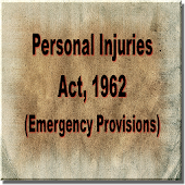 The Personal Injuries Act 1962