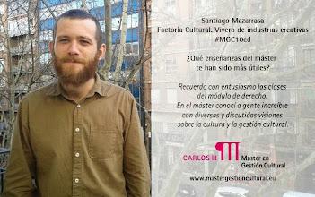 Photo: Santiago Mazarrasa, alumno de la décima edición del Máster (2012/2013) @Factoriamadrid