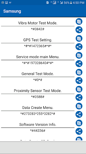 Service Mode Android