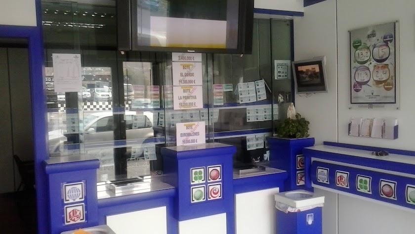 Administración de loterías número 1 de Vícar.