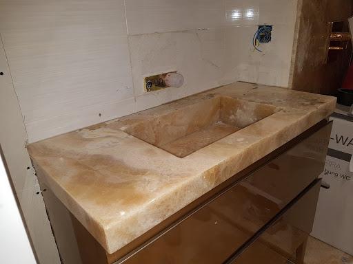 Lavabo Compac.Encimeras Silestone Compac Dekton Neolith Mostoles