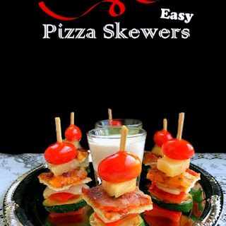 Easy Pizza Skewers