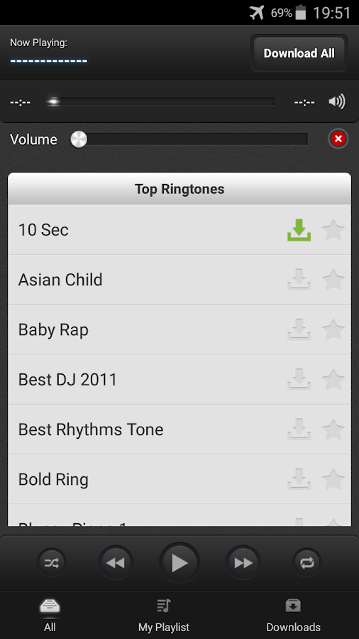 mp3 Ringtones Free Download- screenshot