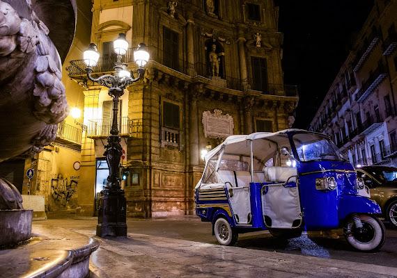 Quattro Canti  a Palermo di marco la torre