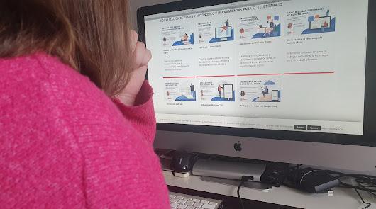 Pistoletazo de salida a los cursos formativos de teletrabajo y comercio 'online'