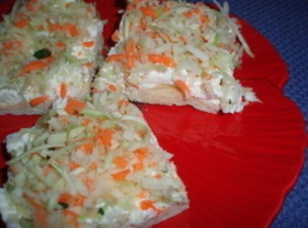 Cream Cheese Vegetable Squares Recipe