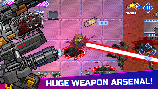 Armored Kitten: Zombie Hunter- screenshot thumbnail