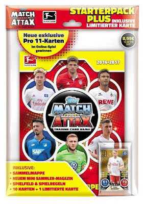 Starterpack Plus - Topps MATCH ATTAX Bundesliga 2016-2017