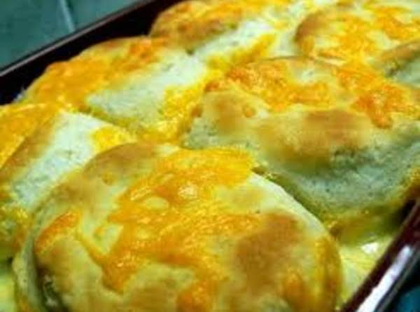 Creamed Chicken & Biscuits Recipe