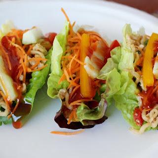 Oriental Lettuce Wraps