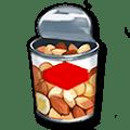 ナッツの缶詰
