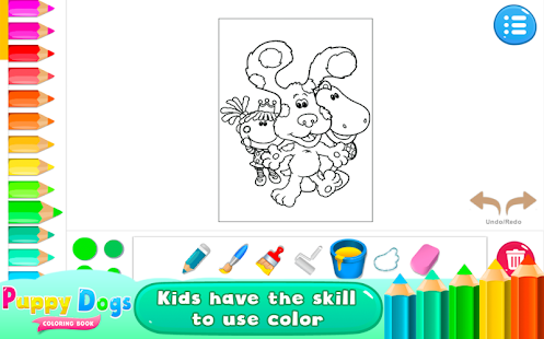 Puppy Dogs Coloring Books Screenshot Thumbnail