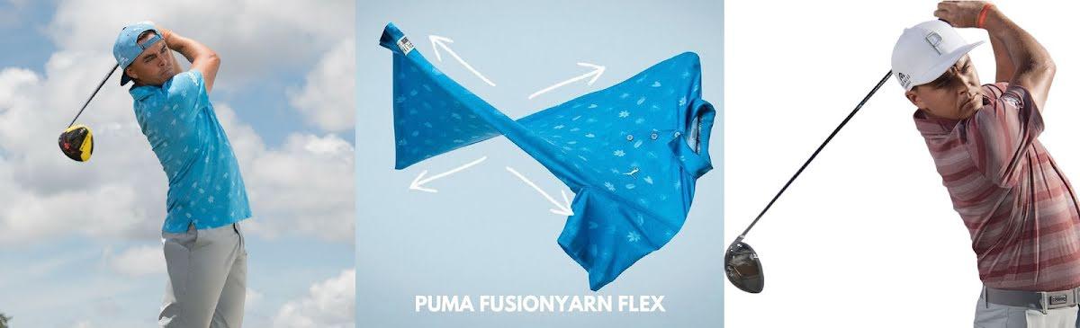 Puma Golf FusionYarn - Golfkläder med bomullskänsla