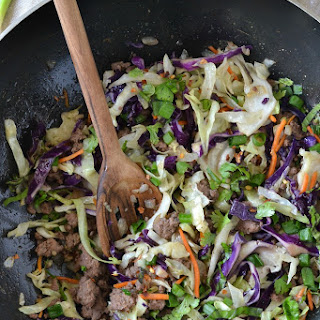 One-Pot Beef and Cabbage Stir Fry (Easy + Paleo).