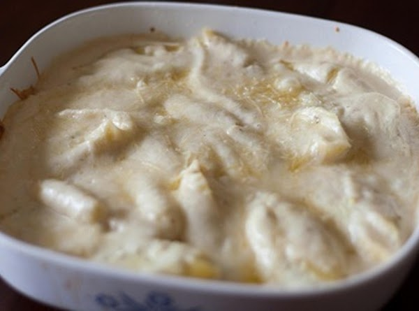 Cheesy Chicken Alfredo Stuffed Shells Recipe