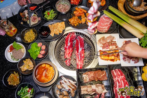全台最大韓式烤肉店 ! 東大門燒烤暢食館 韓式料理X無限肉品