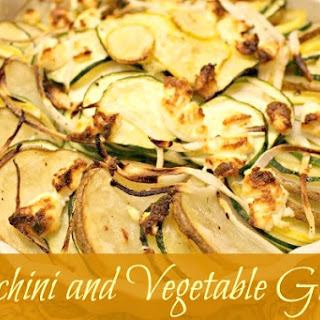Zucchini and Vegetable Gratin