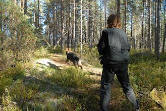 Photo: Ailo og Kari trener rundering