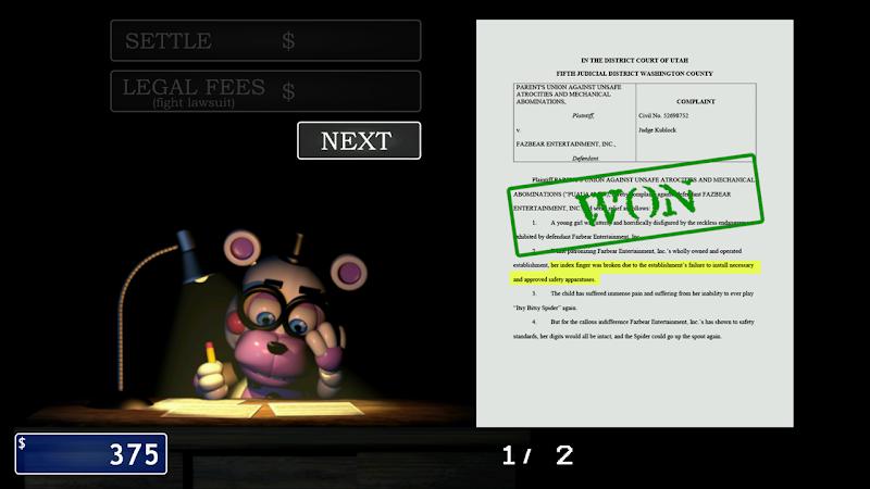 FNaF 6: Pizzeria Simulator Screenshot 3