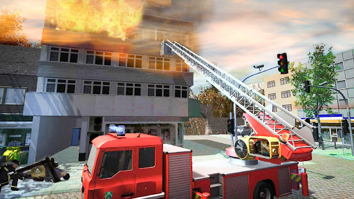Firefighter Games : fire truck games screenshots 2