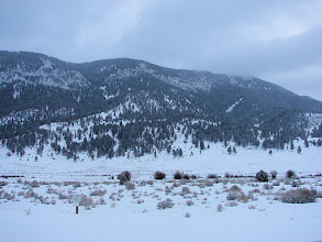 Photo: The view from Highway 191 about 3 miles south of Big Sky