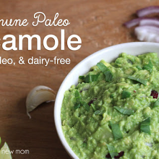 Autoimmune Paleo (AIP) Guacamole - paleo, dairy-free, nightshade-free